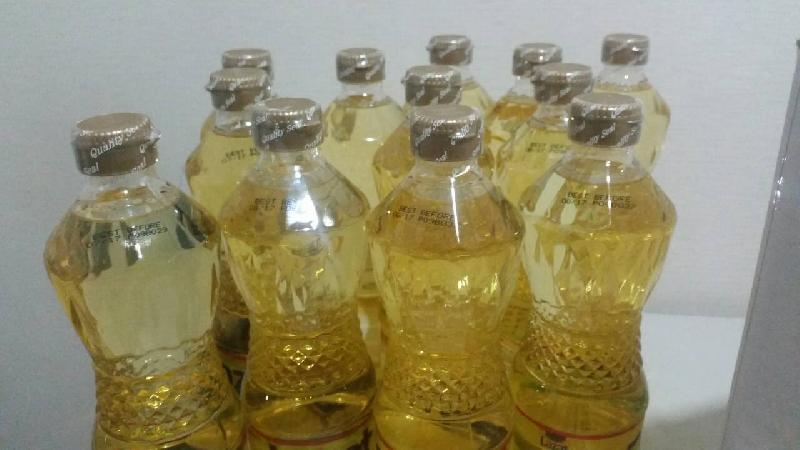 Refined sunflower oil with non-additives, pure oil in bulk or bottles