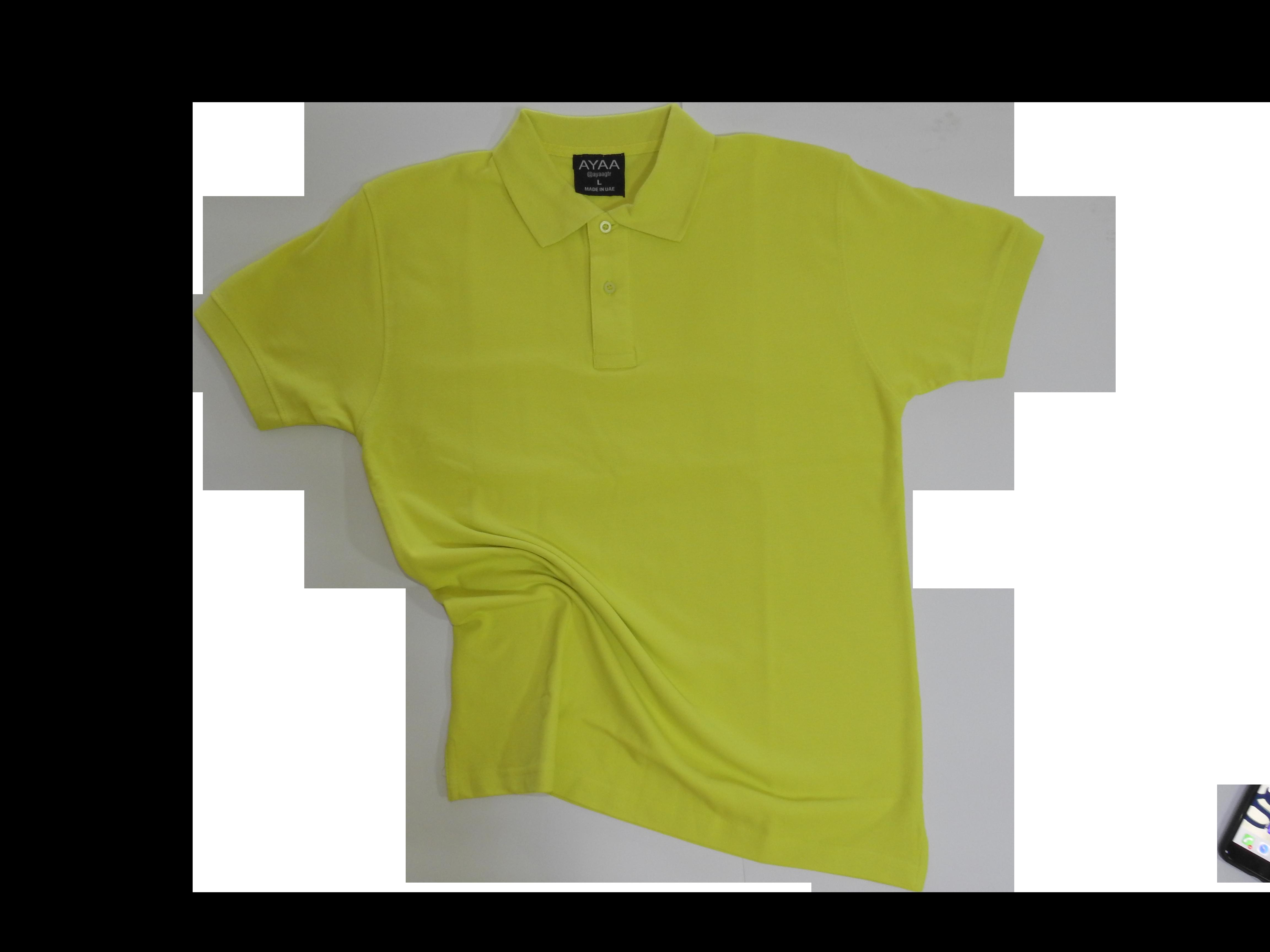 Blank polo t-shirts