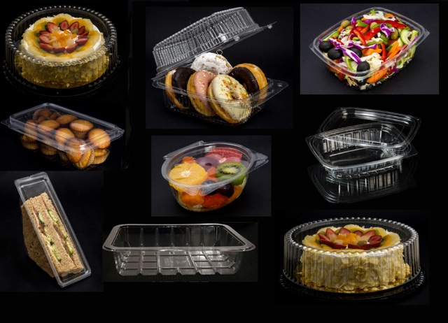 Containers for bakeries & restaurants