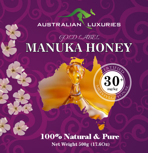 Australian luxuries manuka honey certified mgo 30  500g premium quality