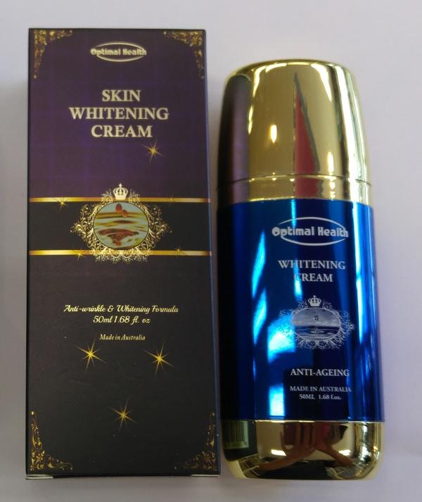 Optimal Health Skin Whitening Cream 50ml GMP Australia Safe