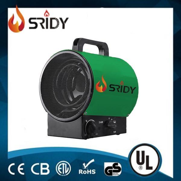 Commercial / Industrial Electric Fan Heater With Thermostat  Portable Industrial Electric Fan Heater TSE-20J