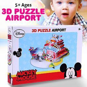 Disney Mickey Mouse 3D Puzzle Airport (DS0919H)