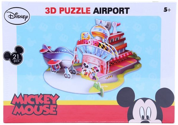Disney Mickey Mouse 3D Puzzle Airport (DS0919H)_2
