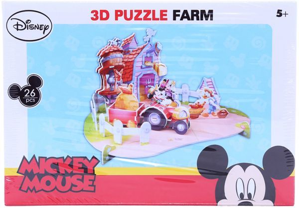 Disney 3d puzzle farm mickey mouse