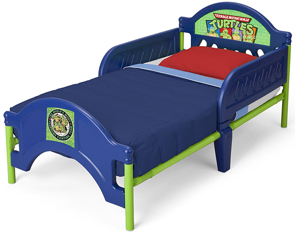 Teenage Mutant Ninja Turtles Plastic Toddler Bed_3