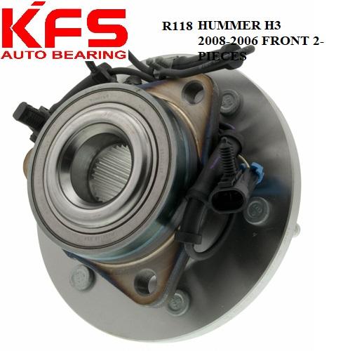 Wheel hub bearing for all cars