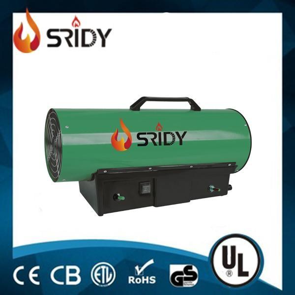 30KW Gas Heater Industrial Workshop Space Fire Heater Propane/LPG Electric