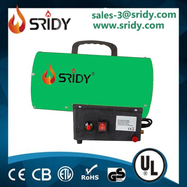30KW Gas Heater Industrial Workshop Space Fire Propane/LPG Electric Heater_2