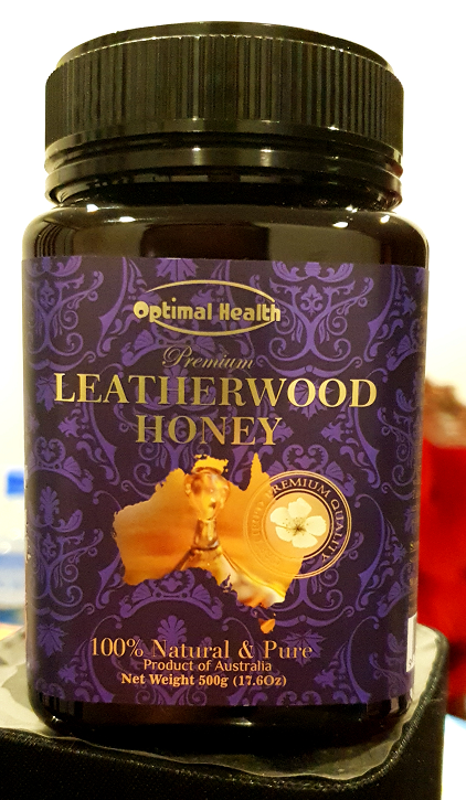 Optimal health leatherwood honey 500g premium floral tasting unique to australia