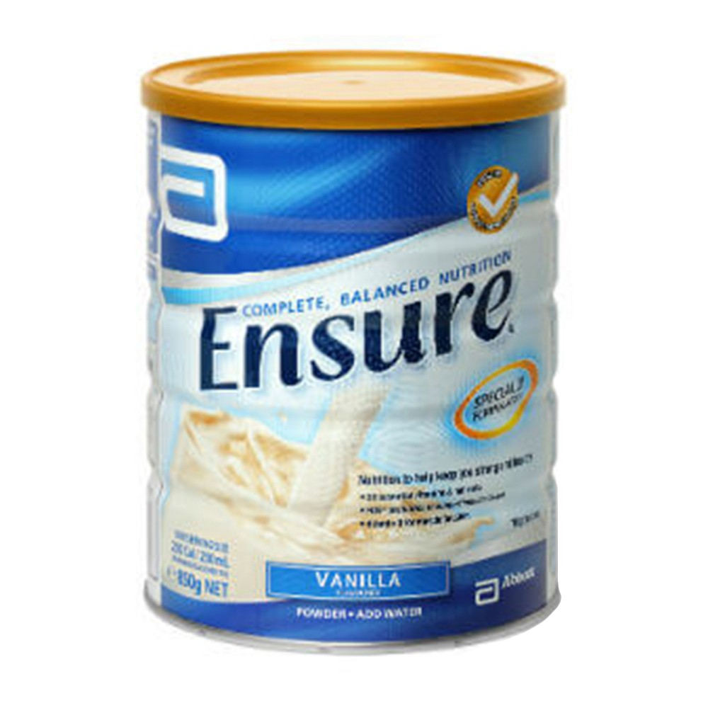 Abbott ensure milk powder 850g aus nz can