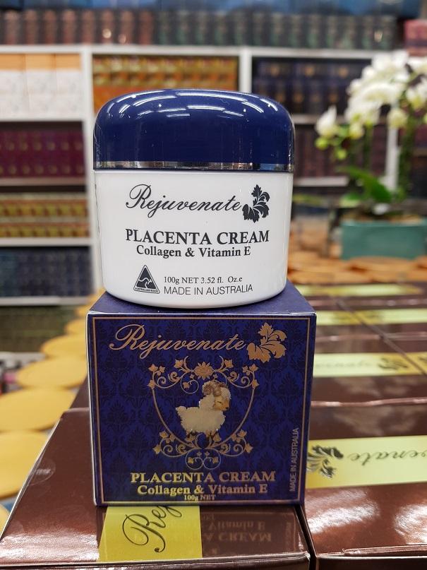 Rejuvenate Placenta Cream with Lanolin, collagen (Made in Australia) Face Whitening & Anti-ageing formula
