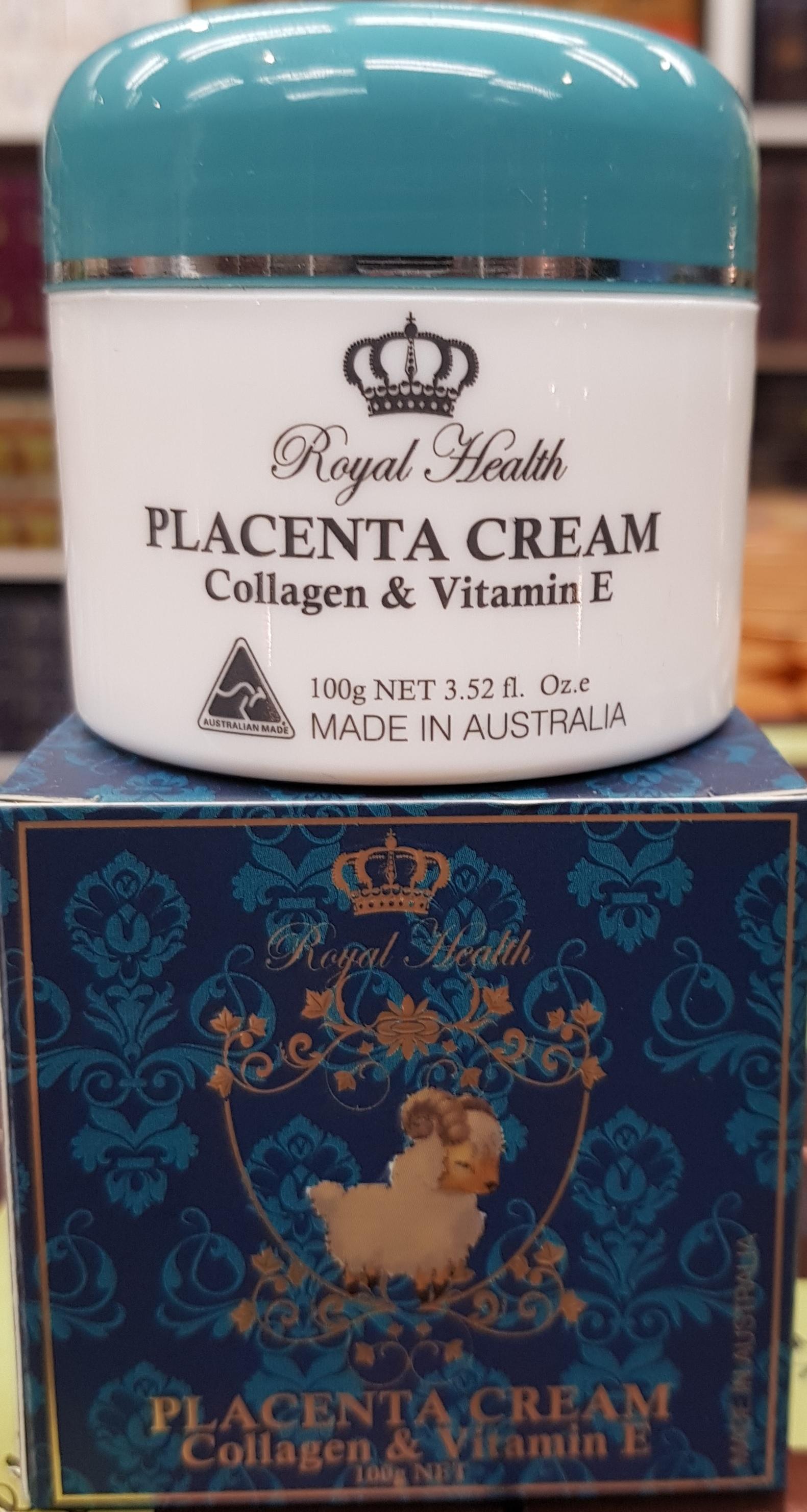 Royal Health Sheep Placenta Cream with Lanolin Vitamin E Collagen Made in Australia_2