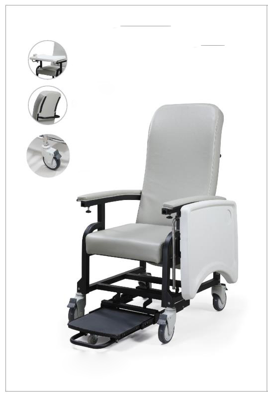 Hospital chairs for elderly people and patients