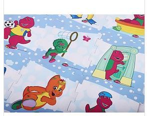 Barney & Friend Design EVA Puzzle Play Mat 9 Pcs_3