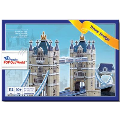 "3D Puzzle POP out world ""Tower Bridge""_2"