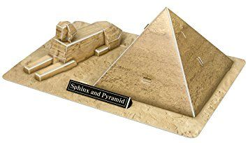 """3D Puzzle POP Out World """"The Sphinx and the Great Pyramid of Giza - Egypt_3"""