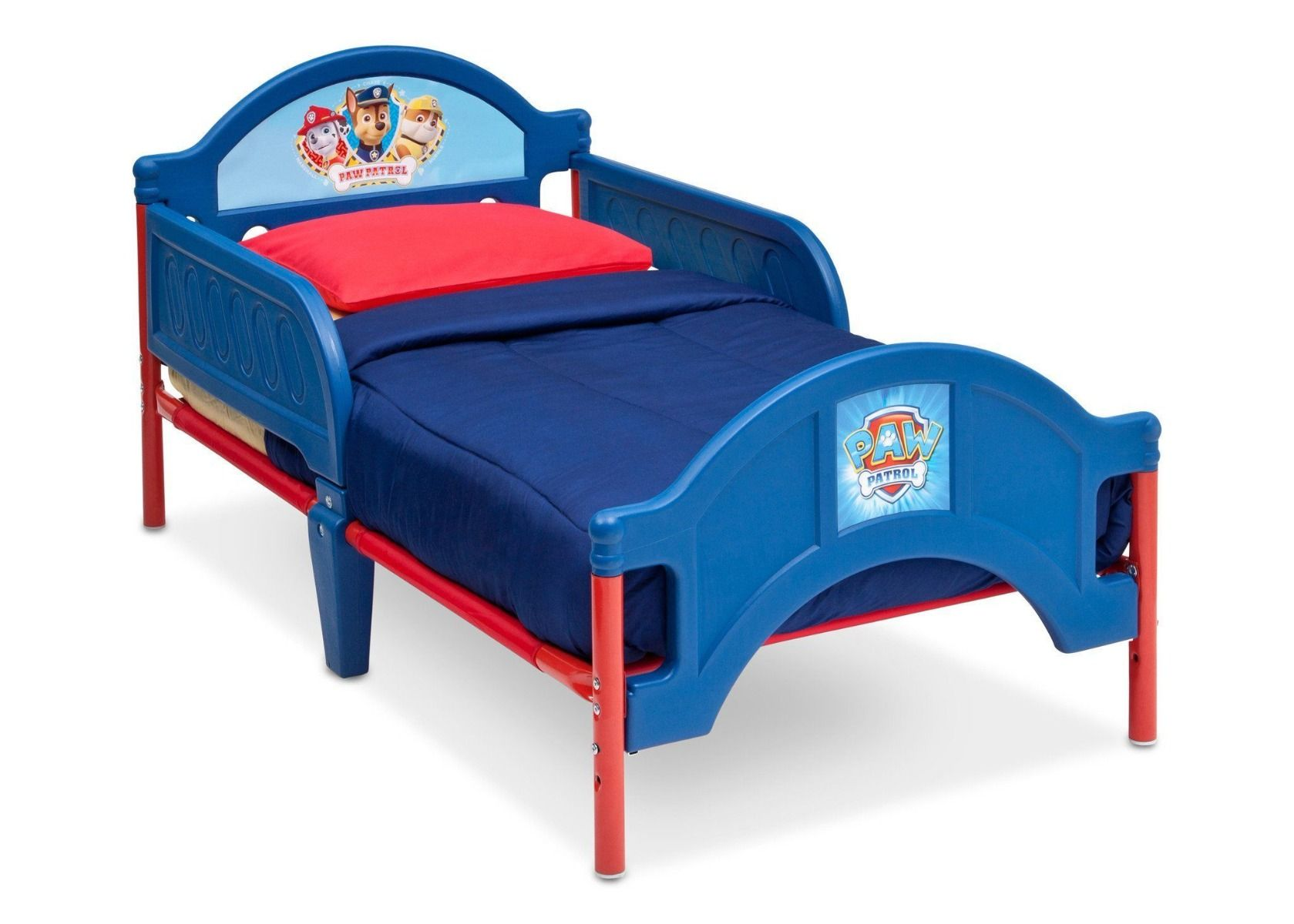 Nickelodeon paw patrol plastic toddler bed children bb86945pw
