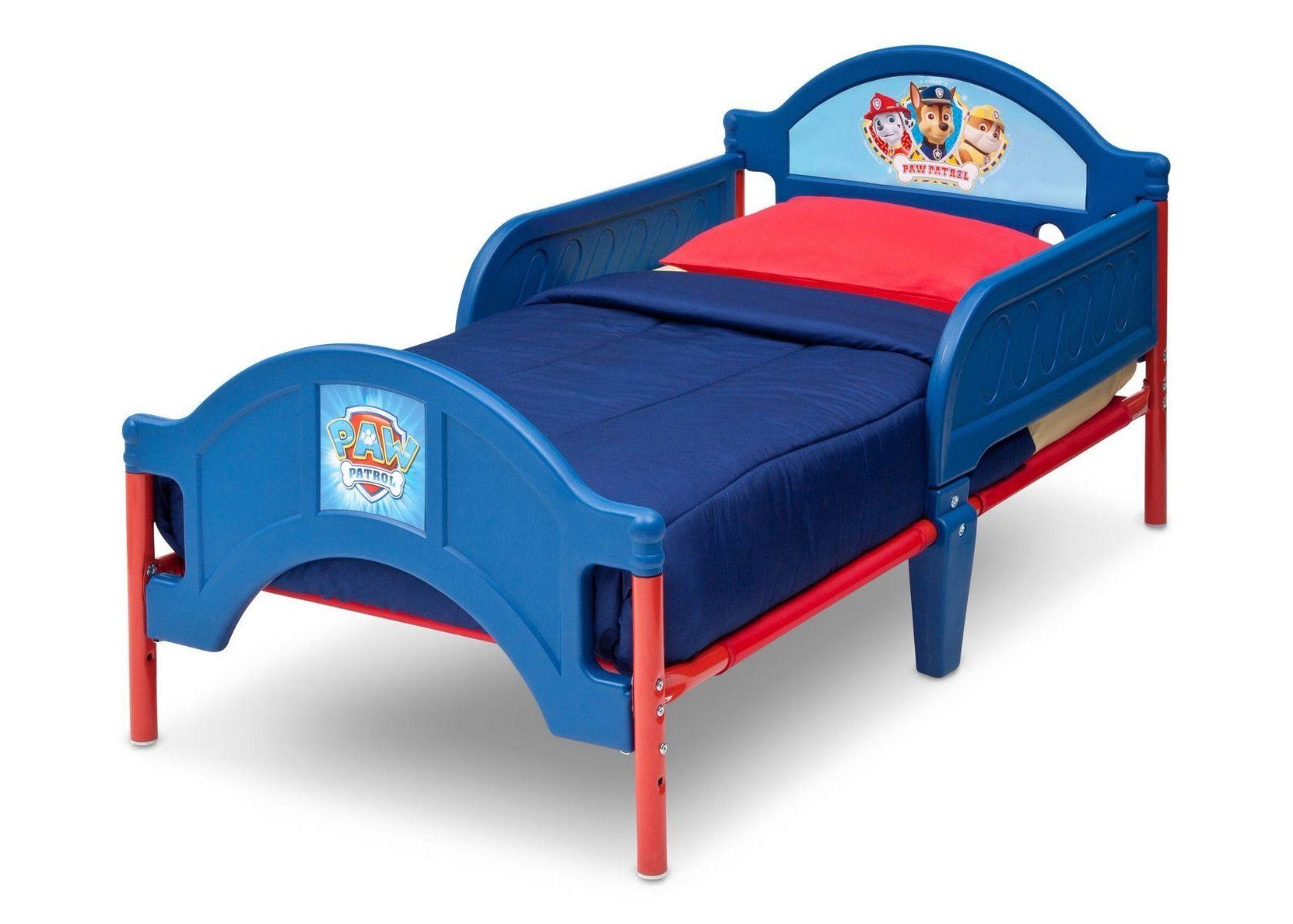 Nickelodeon Paw Patrol Plastic Toddler Bed Children BB86945PW_3