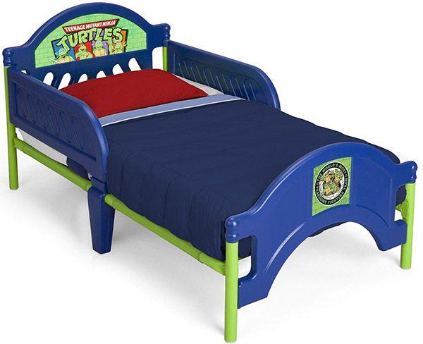 Nickelodeon Teenage Mutant Ninja Turtles Plastic Toddler Bed_3
