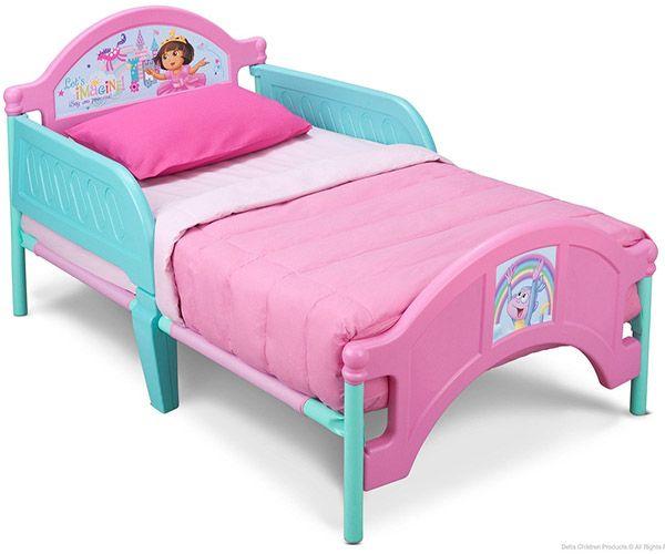 Delta dora plastic toddler bed