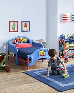 Nickelodeon Blaze and the Monster Machines Plastic Toddler Bed_3
