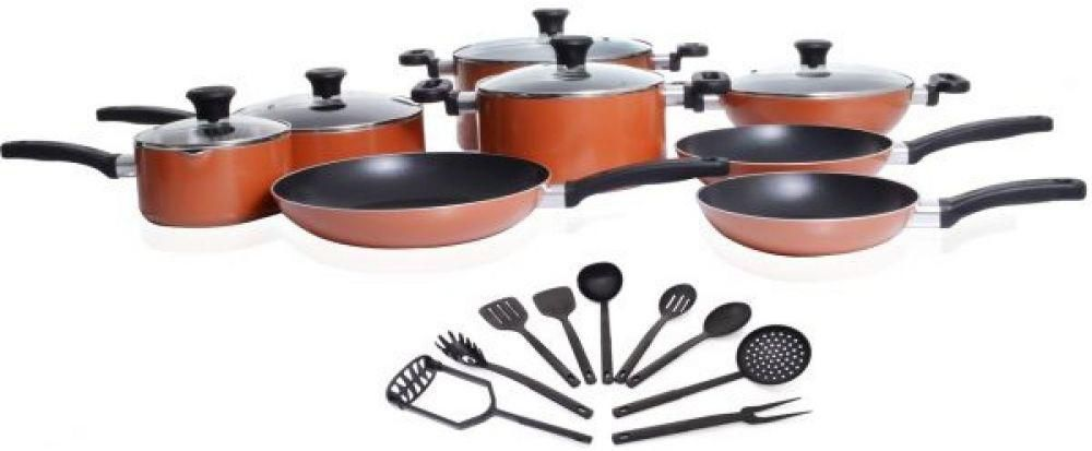 Tefal prima non-stick cookware set of 22 pieces (a115s374)