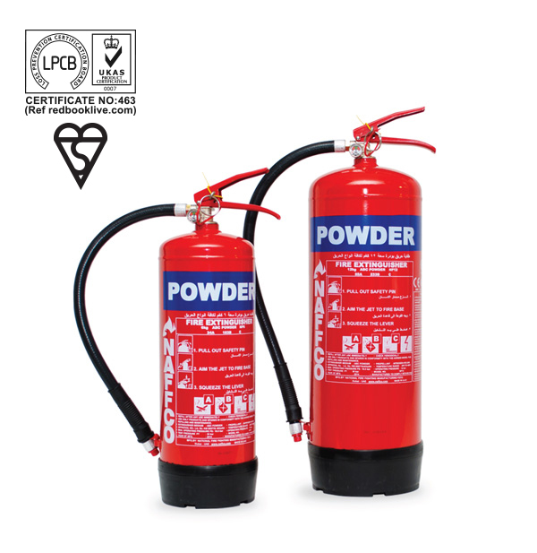 Portable Dry Powder Fire Extinguishers - BSI / LPCB Approved_2