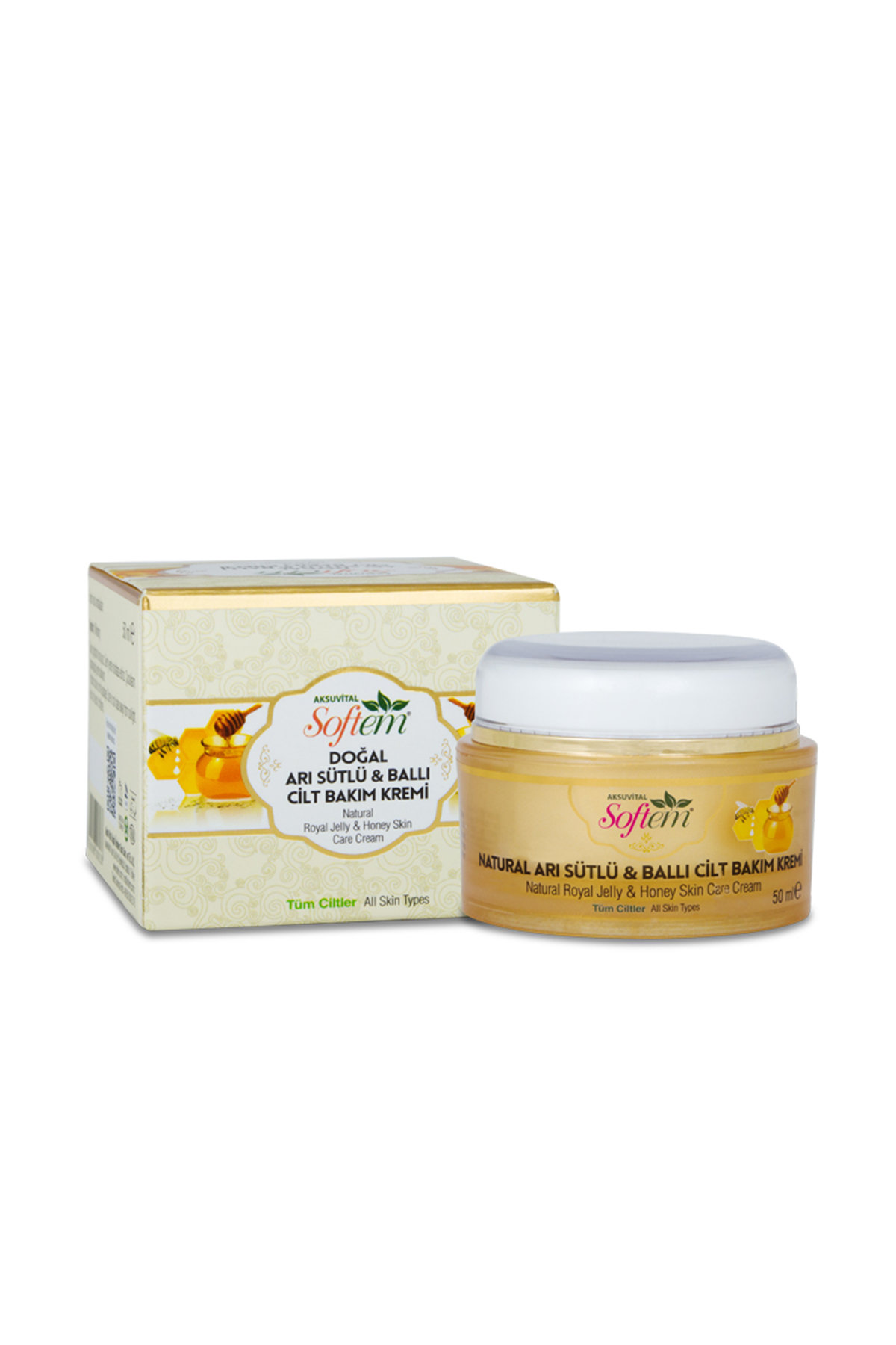 Natural royal jelly & honey skin care cream