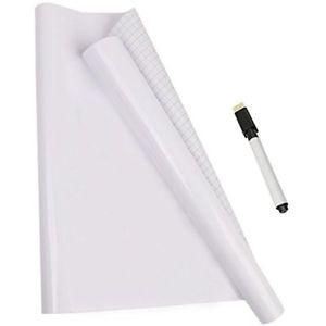 Whiteboard sticker rolls