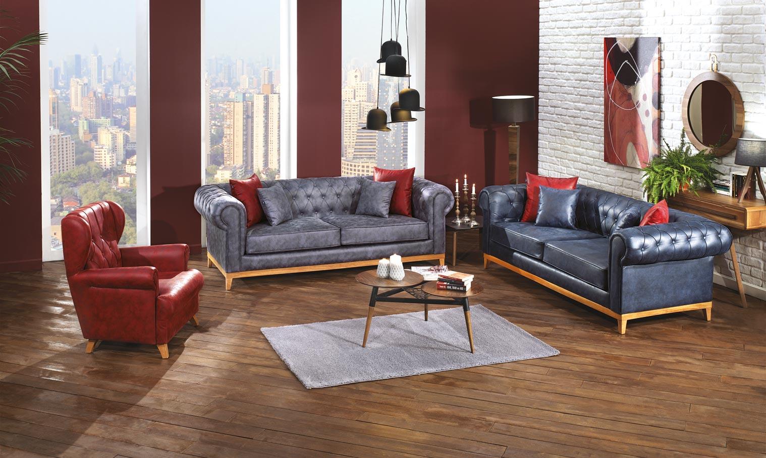 Castello milano sofa set & bergere armchair