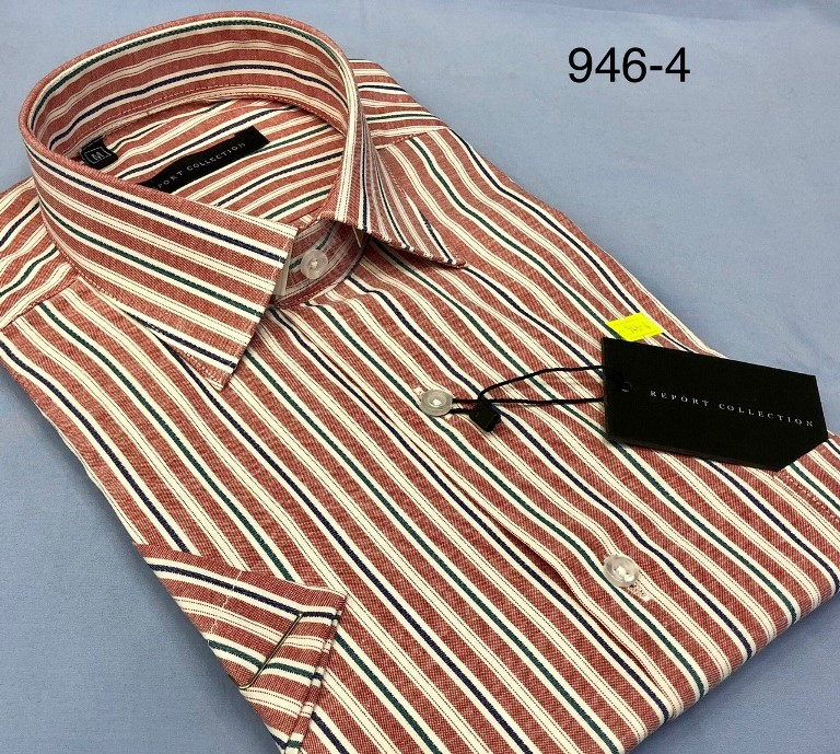 Report Short Sleeved Shirts (Regular Fit, S:M:L:XL:XXL:3XL:4XL)_4