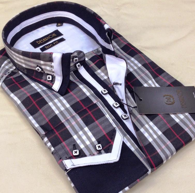Mdeol Zizu Slim Fit Men's Shirts_3