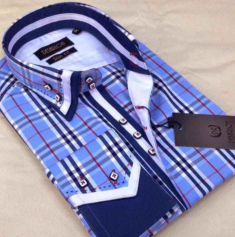 Mdeol zizu slim fit men's shirts