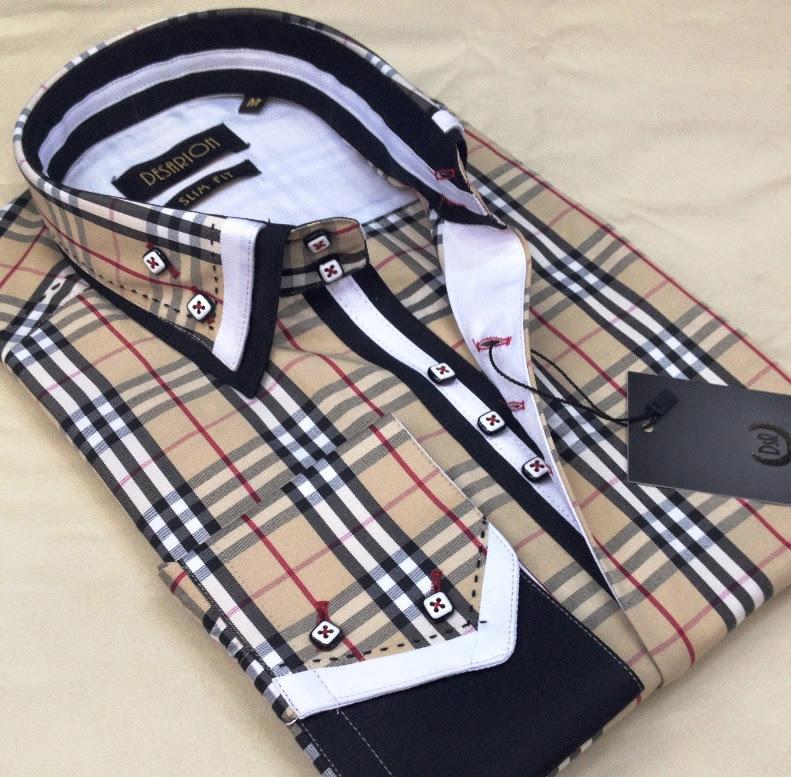 Mdeol Zizu Slim Fit Men's Shirts_4