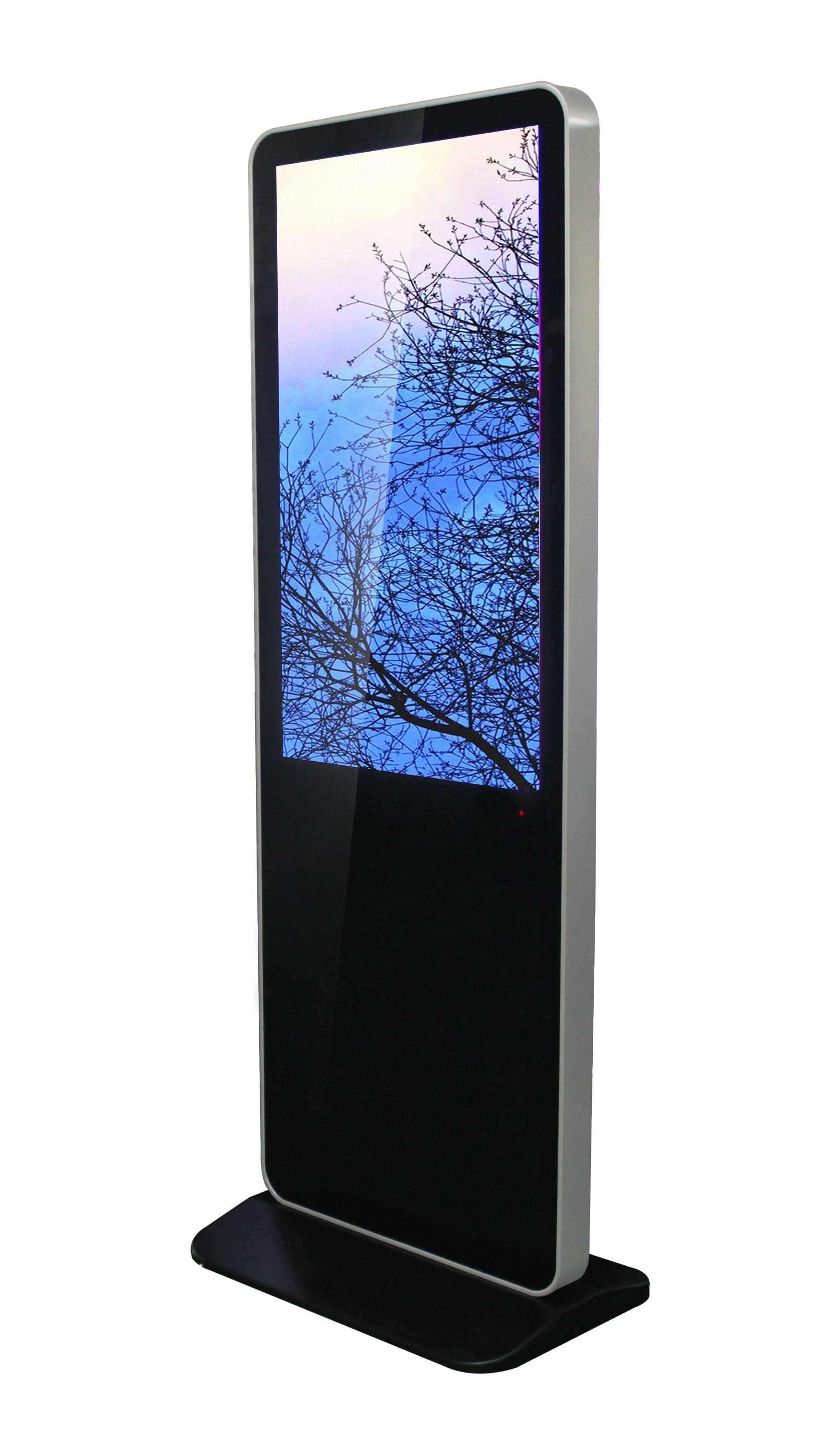 43 inch floor standing interactive digital signage