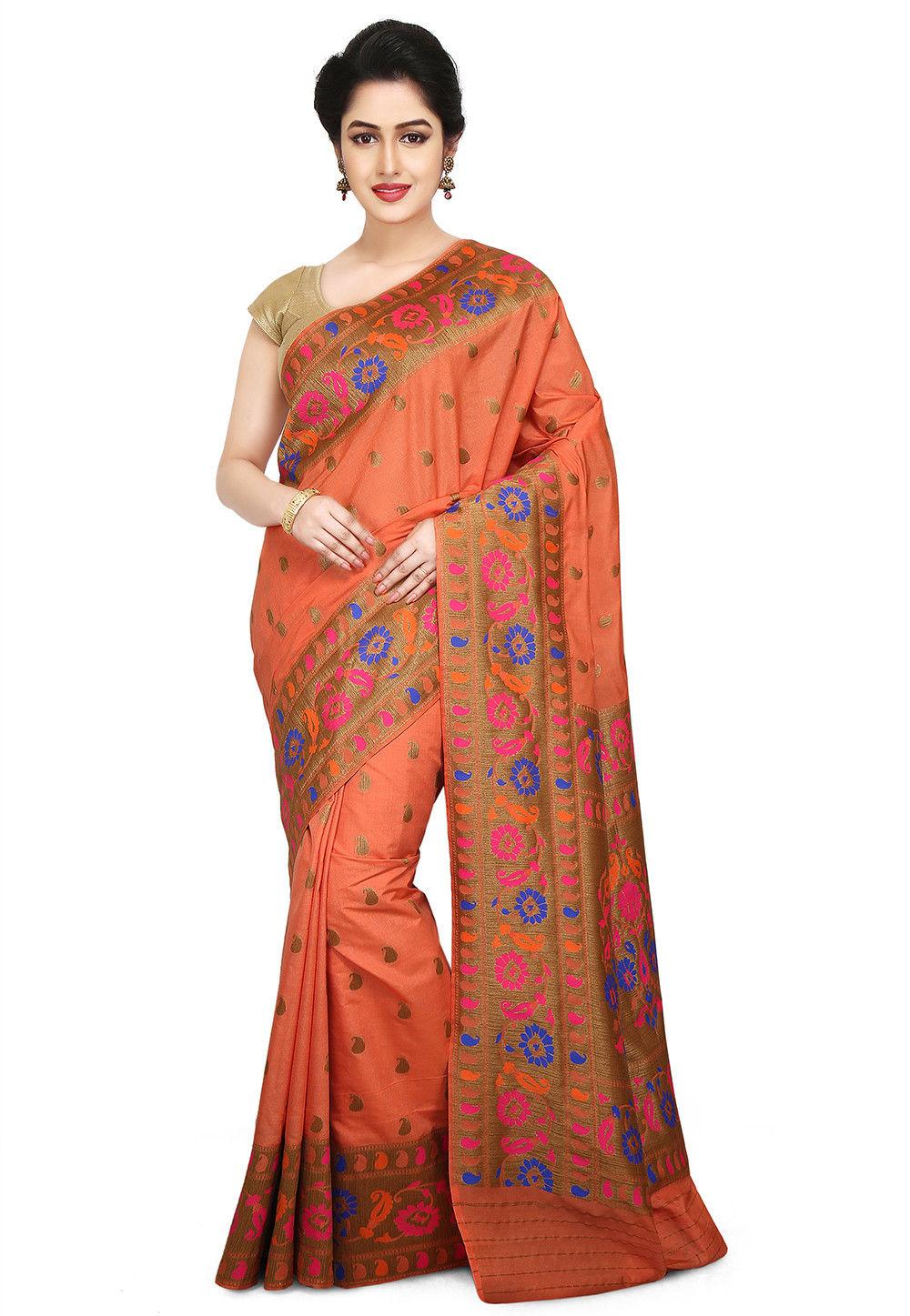 Art bangalore silk saree