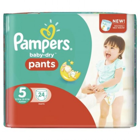 Pampers pants baby dry 24pcssize 5 [nl/f/d/uk]