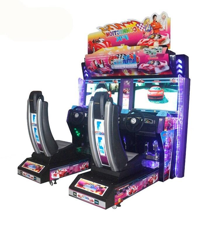Arcade Racing Car/Moto Game Machine-Offer OEM&ODM Service_5