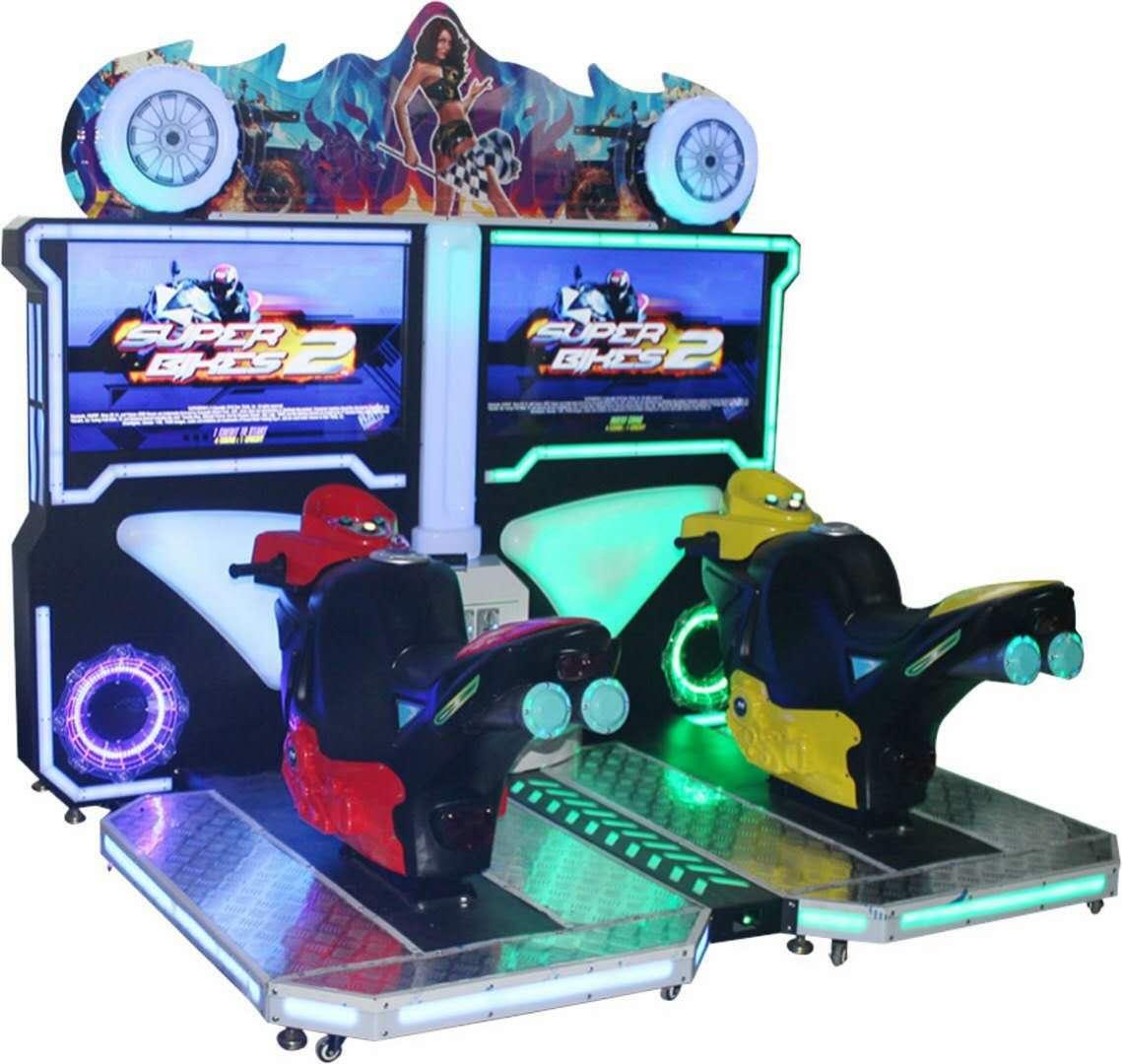 Arcade Racing Car/Moto Game Machine-Offer OEM&ODM Service_3