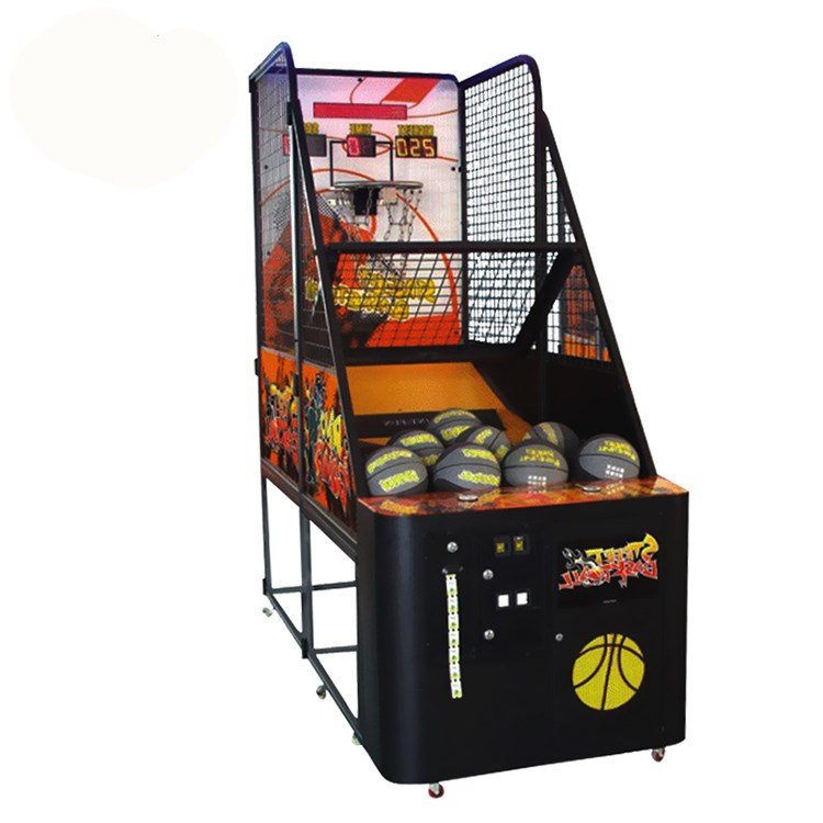 Arcade crazy basketball game machine