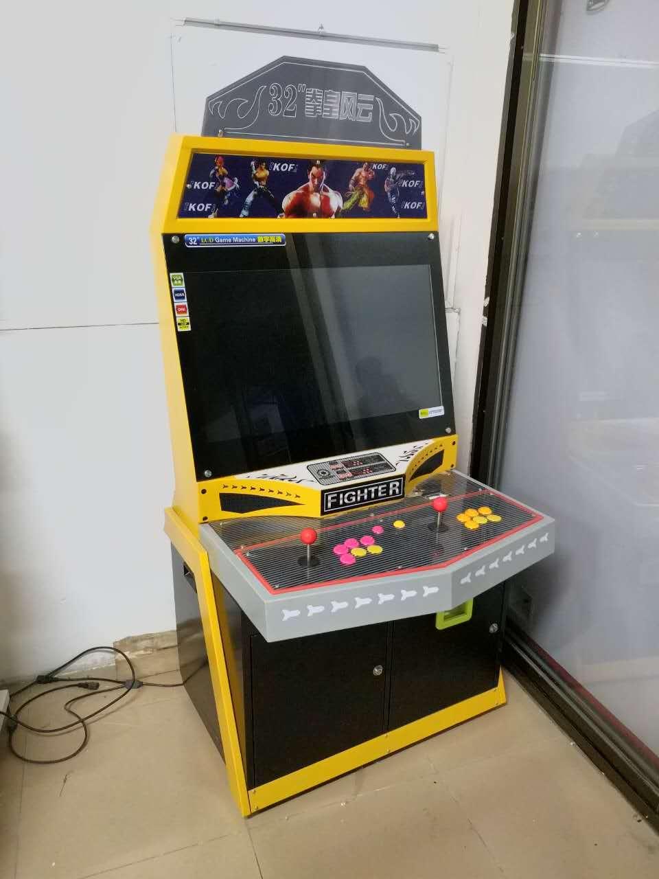 Hot Sales Arcade Fighting Game Machine_4