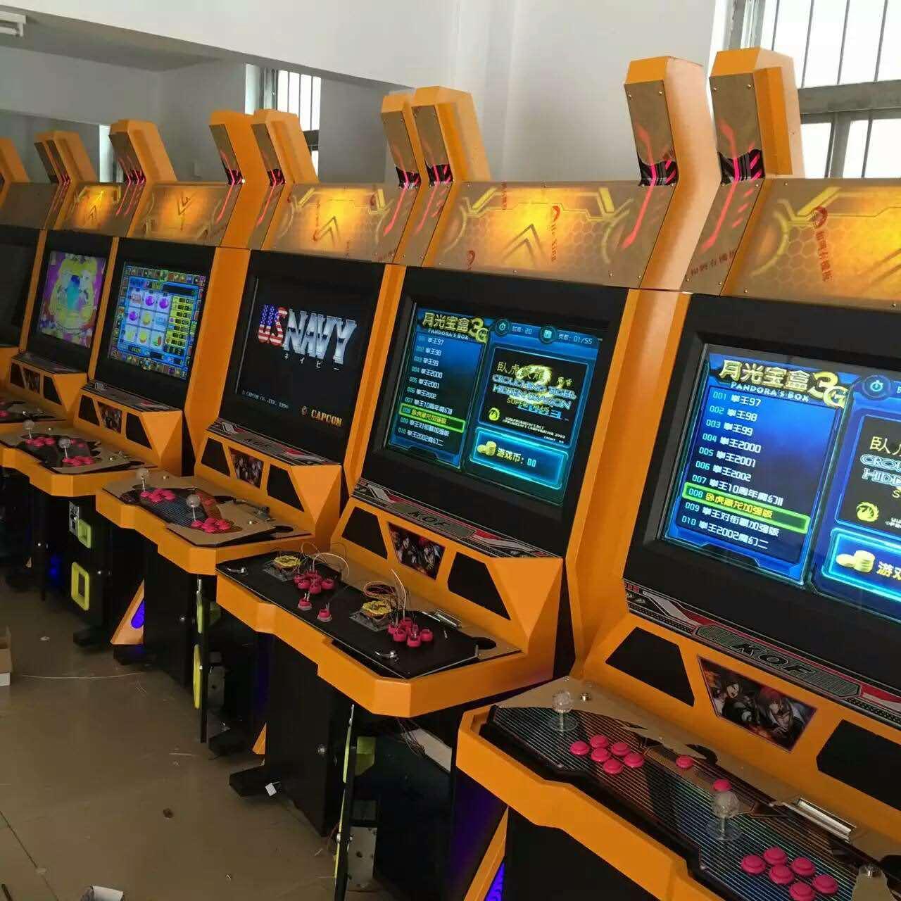 Hot Sales Arcade Fighting Game Machine_2