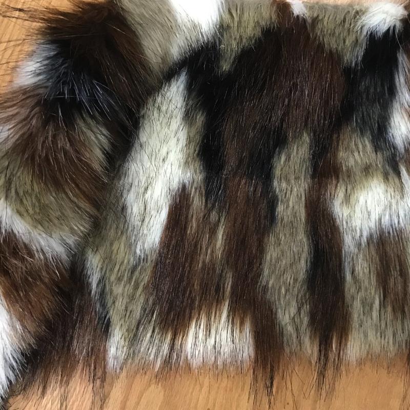Prada faux fur