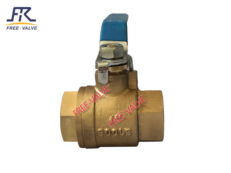 C95800 Bronze Handle Operation screw end Ball Valve,bronze ball valve_2