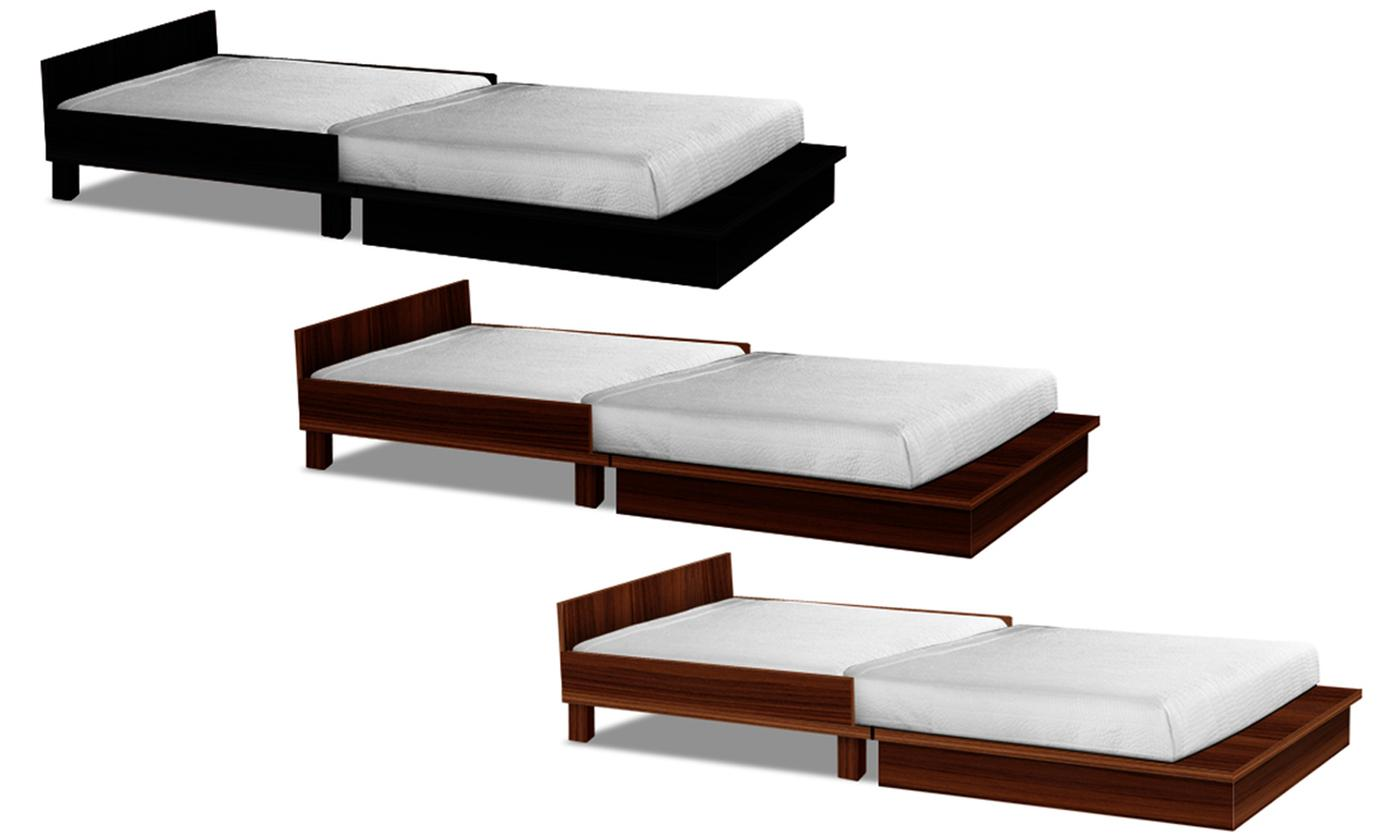 Coffee Table Fold-Out Bed_4