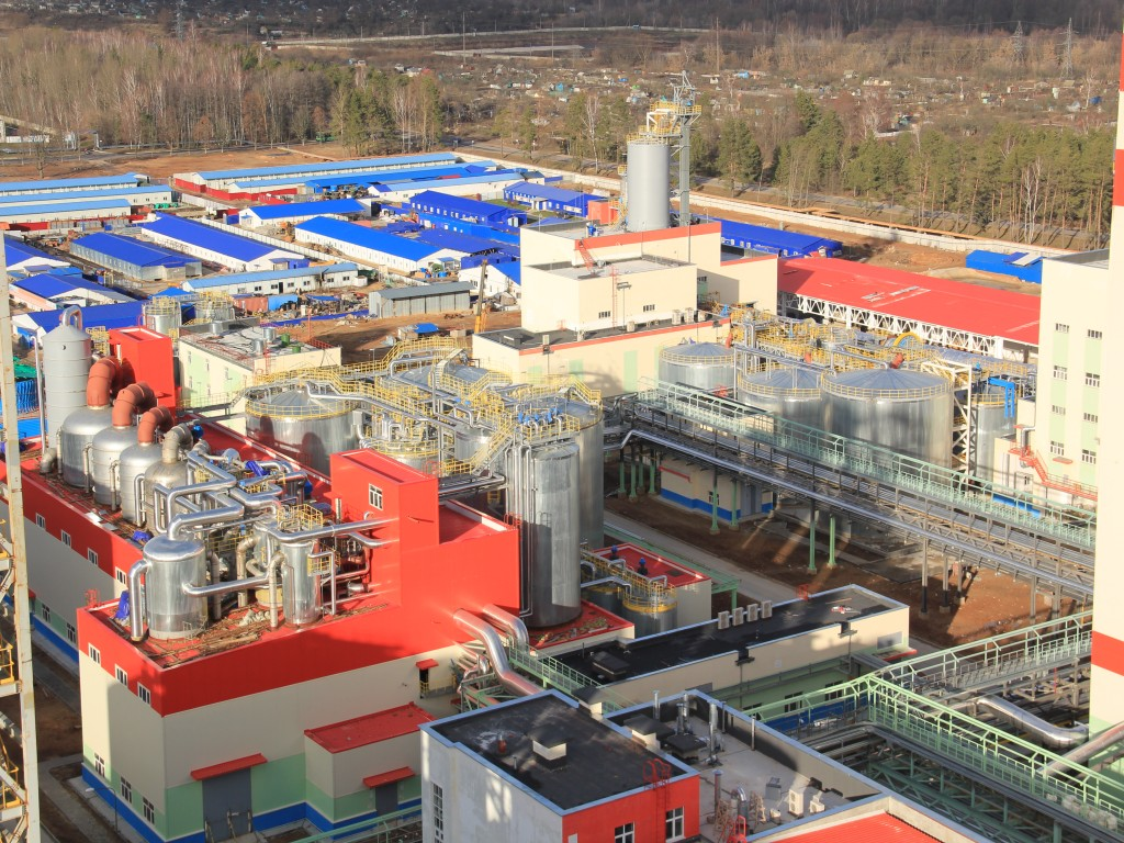 400,000t/A Bleached Kraft Pulp Plant Project In Belarus_2