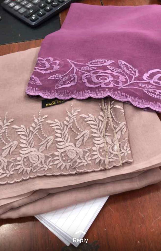 Silk, Chiffon , Cotton , Geoggette ...fabric_4