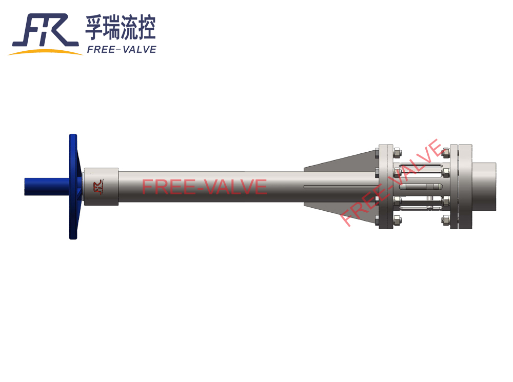 Tank Bottom Valve with Strainer for drilling mud_2