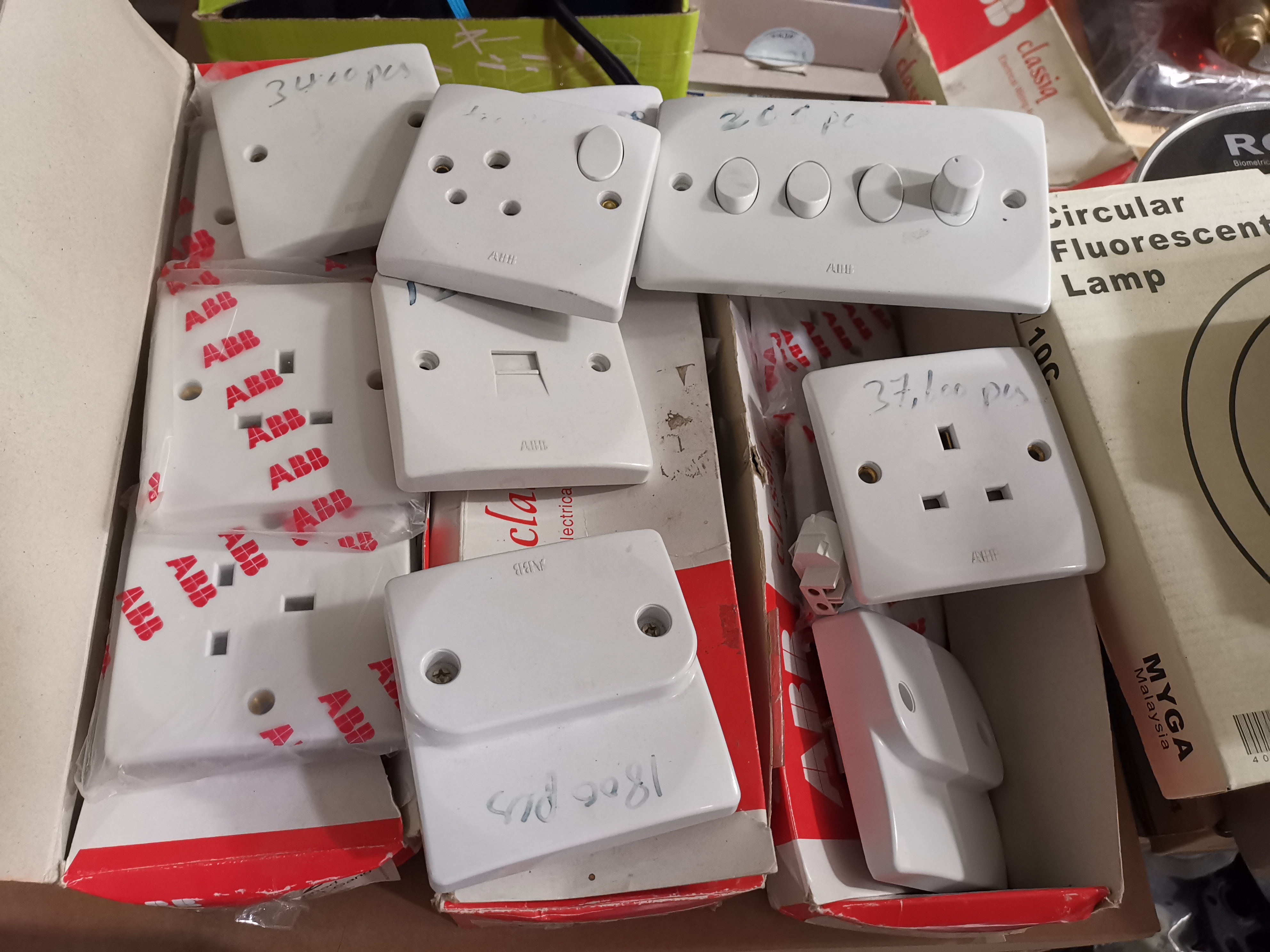 Electric switches assorted